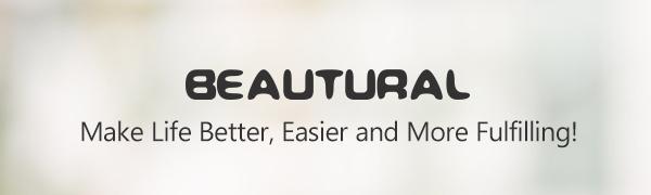 Beautural Plancha de Vapor, 2400W, Vapor 340ml con Pantalla LCD ...