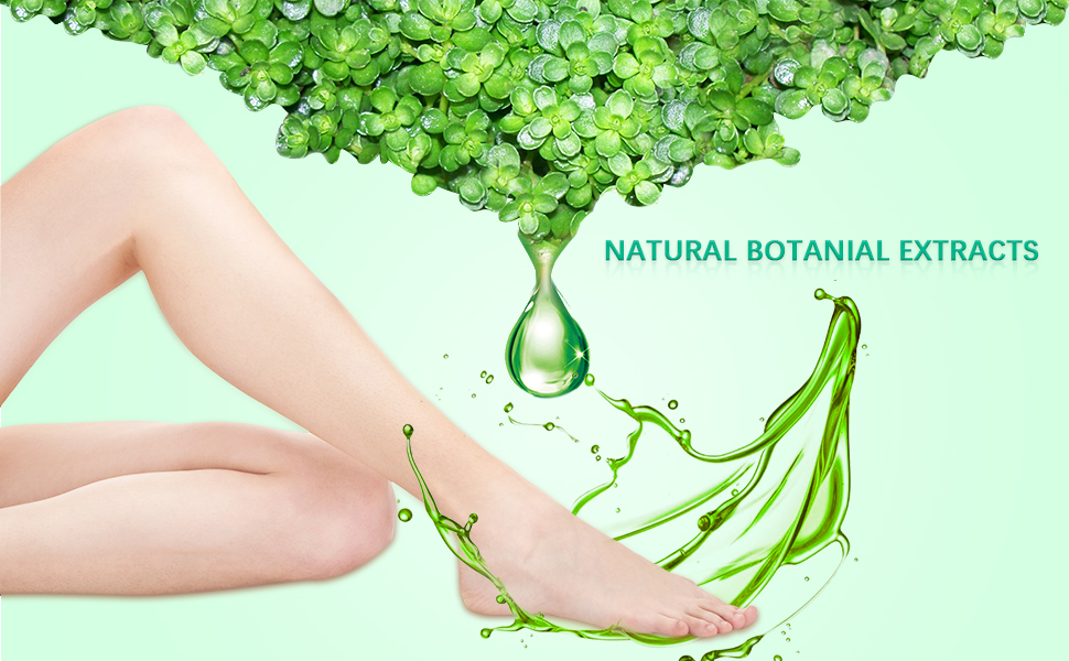 Natural safe ingredient of foot mask