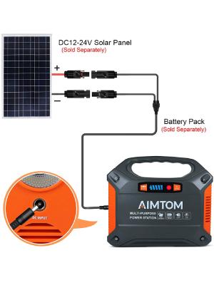 solar charging aimtom sps-155