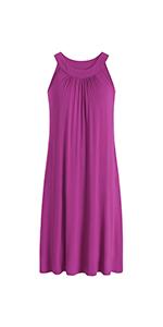women long nightgown cooling sleep dress bamboo viscose sleepwear ladies loungewear summer nighty