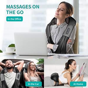 shiatsu neck massager