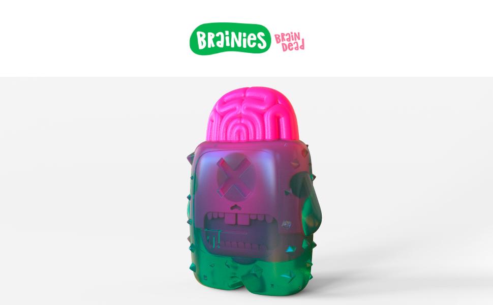 Brain Dead- Perro masticar juguete