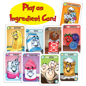 fun family recipe baking ingredient popular best board card game teens teenagers kids ages 8 12 gift
