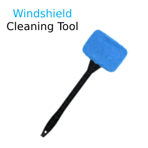 windshield cleaning tool for car