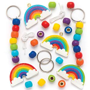 Rainbow Keyrings