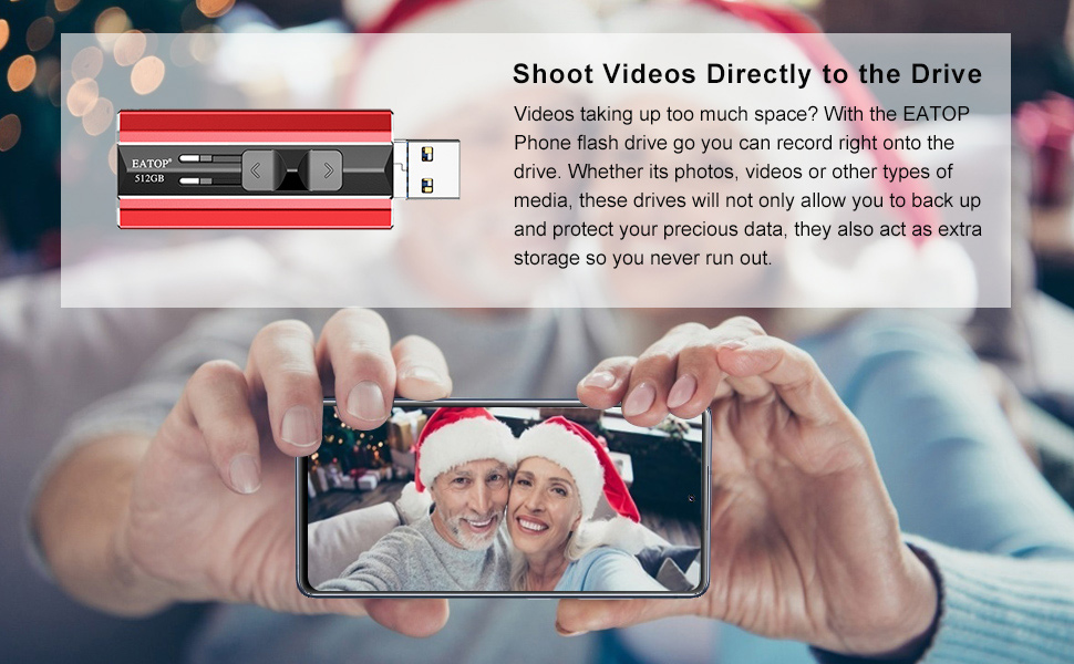 photo stick for phone thumb drive for phone usb flash drive for phone usb photo stick 512gb