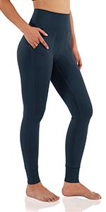 High-Waist Jogger Leggings with Pockets