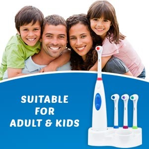 adult and kid electric toothbrush