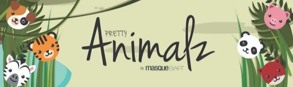 animal facial mask, sheet mask, slumber party, girls night, gift for women, skincare, skin care, k