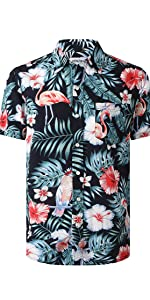 Venzulia mens hawaiian shirt
