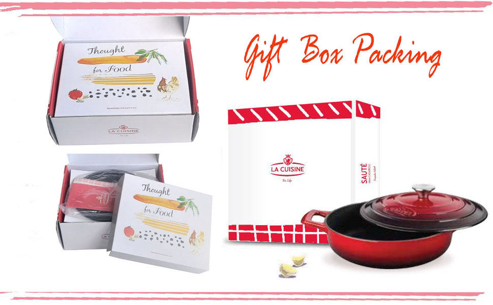 Gift Box Packing