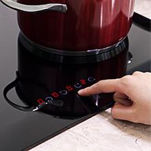 touch control ceramic hob