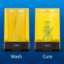wash and cure