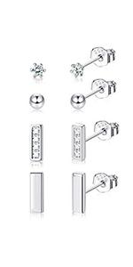 bar earrings for women