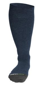Navy dark blue compression socks