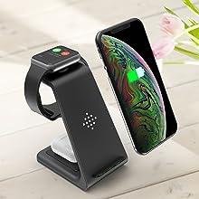 ワイヤレス充電器 Apple Watchスタンド