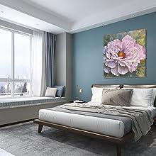 Flower Wall Art For Bedroom