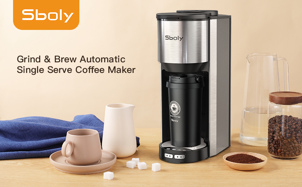 Sboly Grind and Brew Automatic Coffee Maker