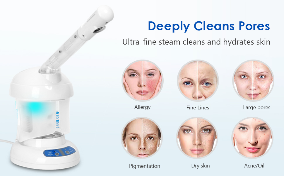 Deeply Cleans Pores