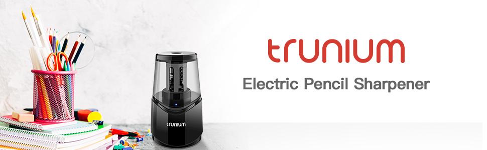 TRUNIUM Electric Pencil Sharpener