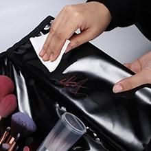 Makeup Train Case Travel Portable Bag With Adjustable Compartments Makeup Tools Black Makeup box