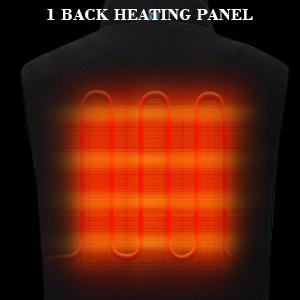 Heated vest for men Heated vest men Battery vest heating Battery powered vest Heated core vest