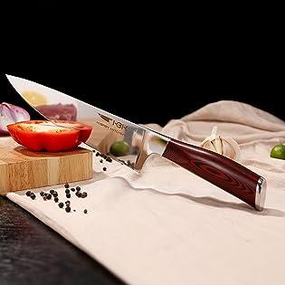 kitchen knife chef cooking knifes set cuchillos de cocina damascus 67 layers