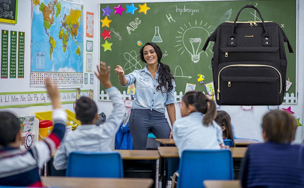 Women Teacher Backpack