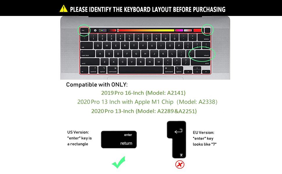 A2141 keyboard cover