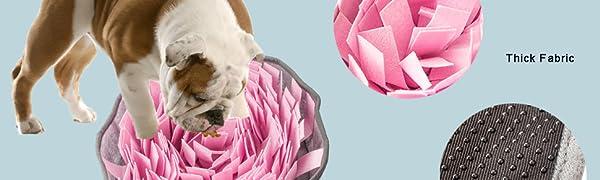 pink snuffle mat