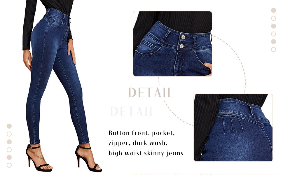 Women's Casual Denim Jeans