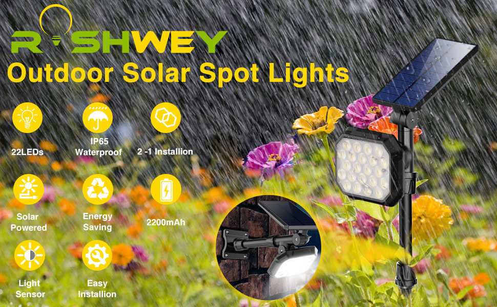 spot solar lights