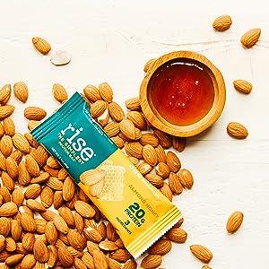 pea protein, protein bar