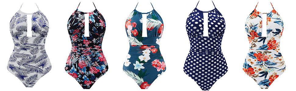 one pieces swimsuits for womens