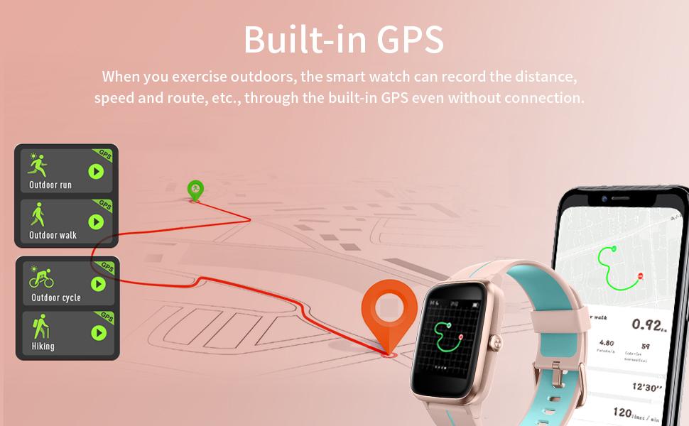 activity tracker watch for women waterproof fitness tracker for women step tracker watch for women