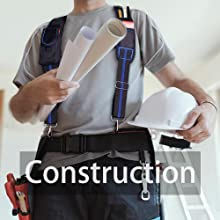 Construction Tool Belt Suspenders