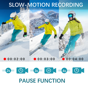 Slow Motion Continuous Shooting