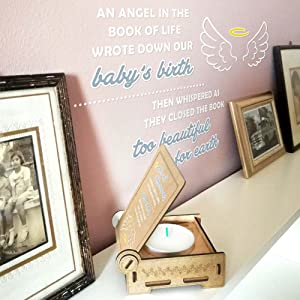 Trost LICHT / angel baby memorial gift / a product of FANS & Friends AG / made in Germany