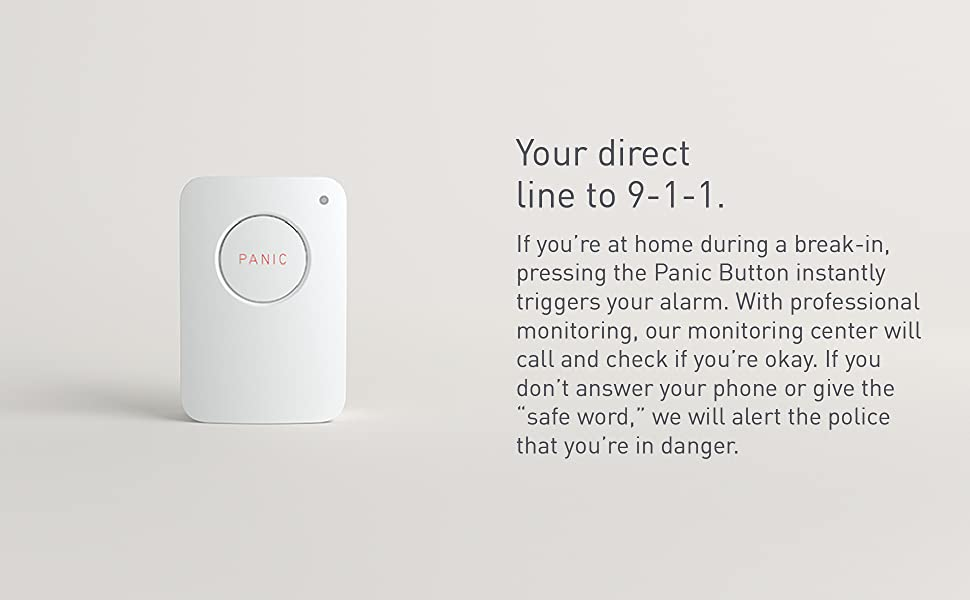 Built-in Silent Panic Feature SimpliSafe Panic Button Compatible with SimpliSafe Home Security System