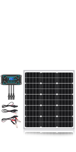 50W Mono Solar Panel Kits