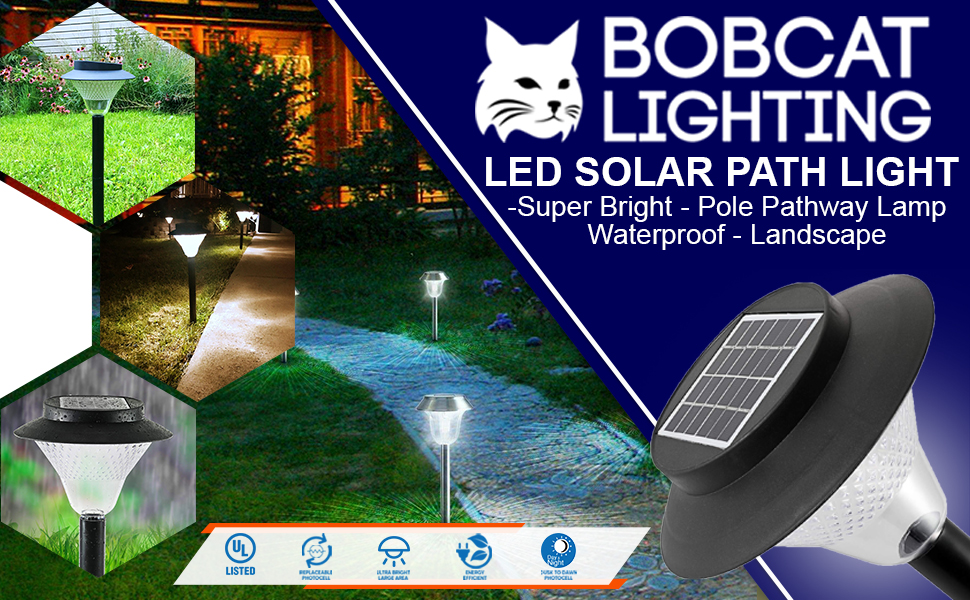 lightPath Light 60 Lumens Super Bright Outdoor Auto-on/off Switch Spotlights Long Working Elegant