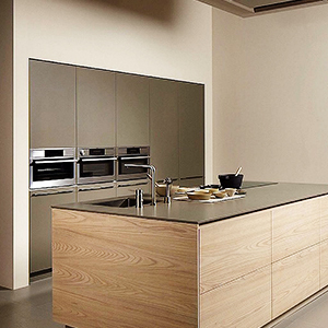 A Tidy & Organized Kitchen with electric hob