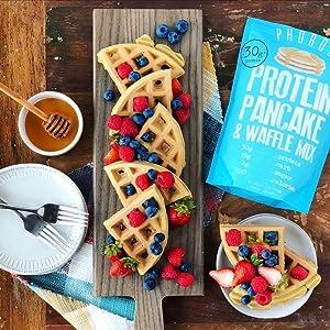 Phoros Nutrition Protein Pancake & Waffle Mix