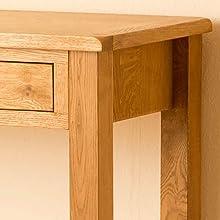 Lanner Oak work desk frame