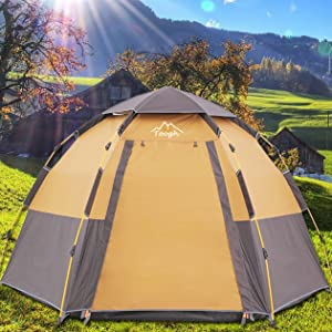Toogh 3-4 Person Camping Tent!