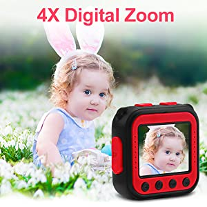 4X Digital Zoom
