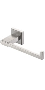 toilet paper holder tissue dispenser single post brushed simple cabinet roll commercial Wall Mount