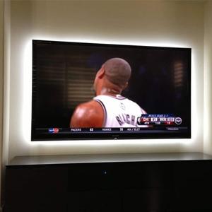 True White Light Strip Back TV