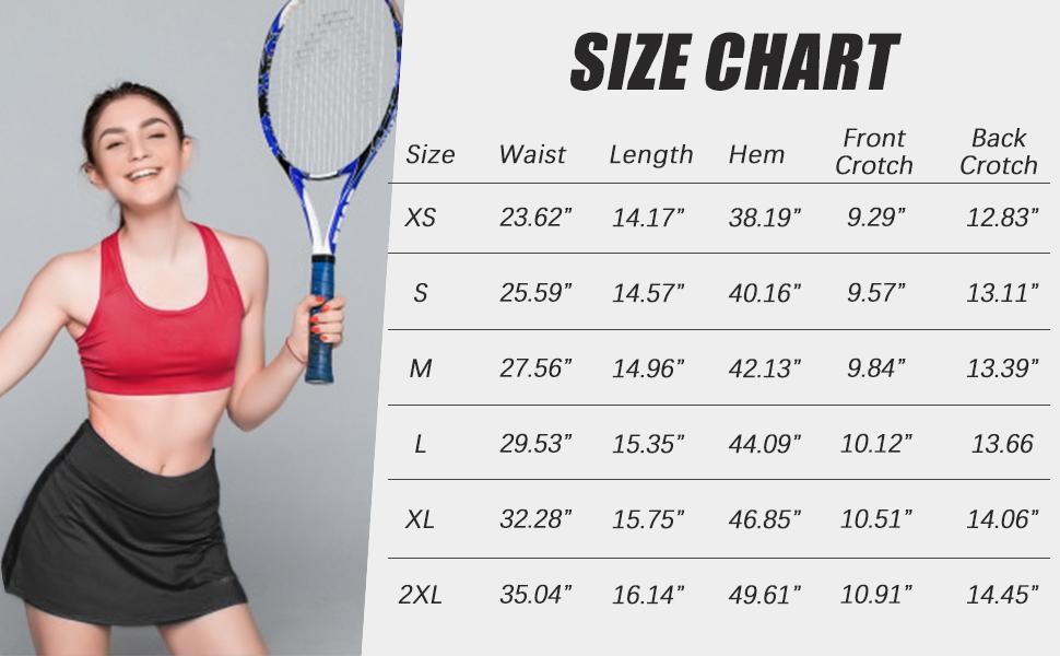 tennis skirts a