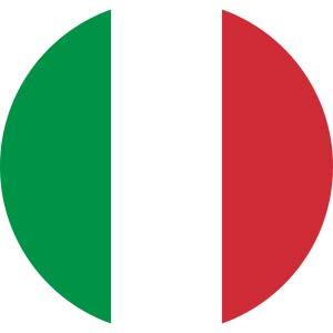 Fabriqué en Italie.